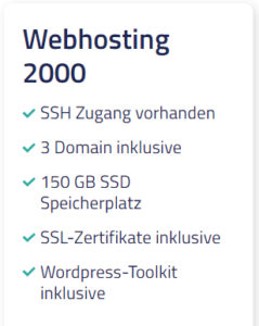 Netcup Webhosting 2000